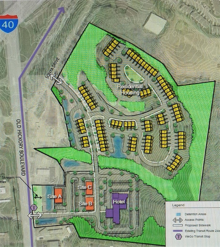 Large-scale hotel and townhome development moves forward