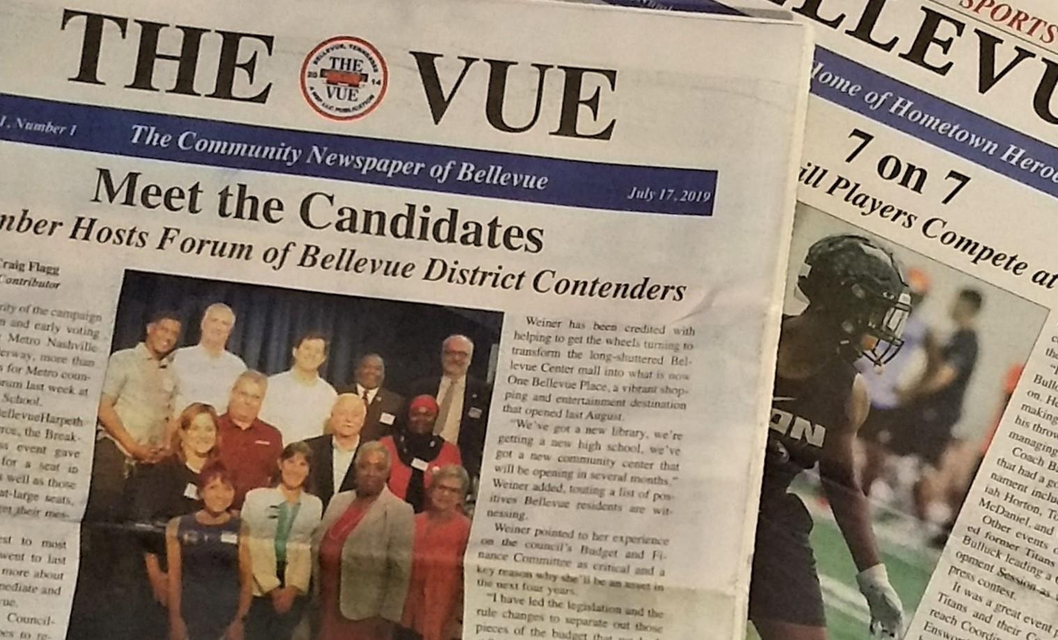 Head of 'Bellevue Sports Weekly' begins latest community newspaper venture
