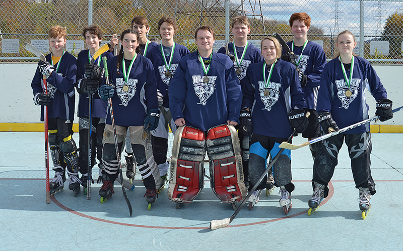 Blast youth roller hockey ready to face off for fall season