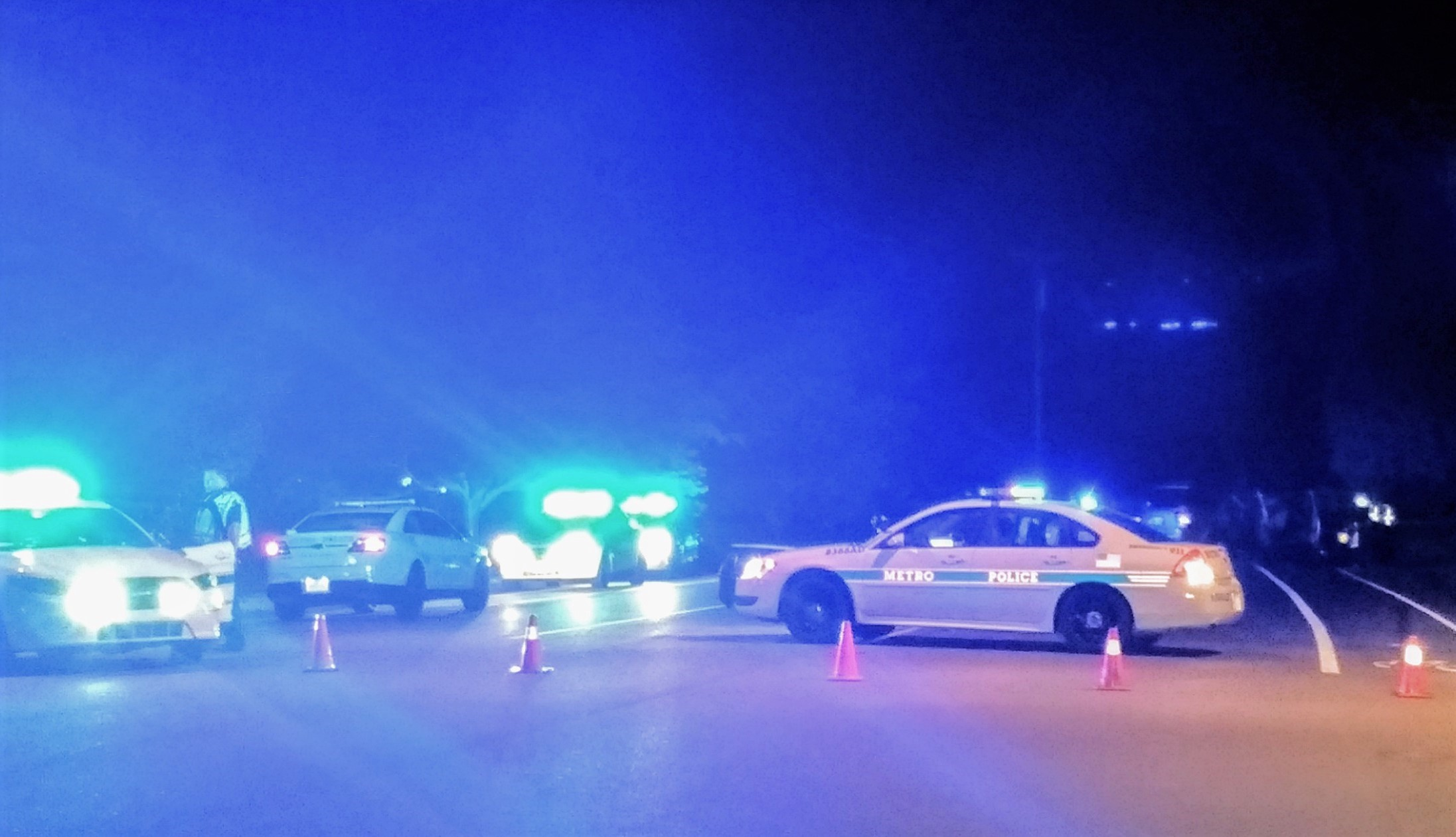 Head-on crash closes Sawyer Brown Road for hours Thursday night