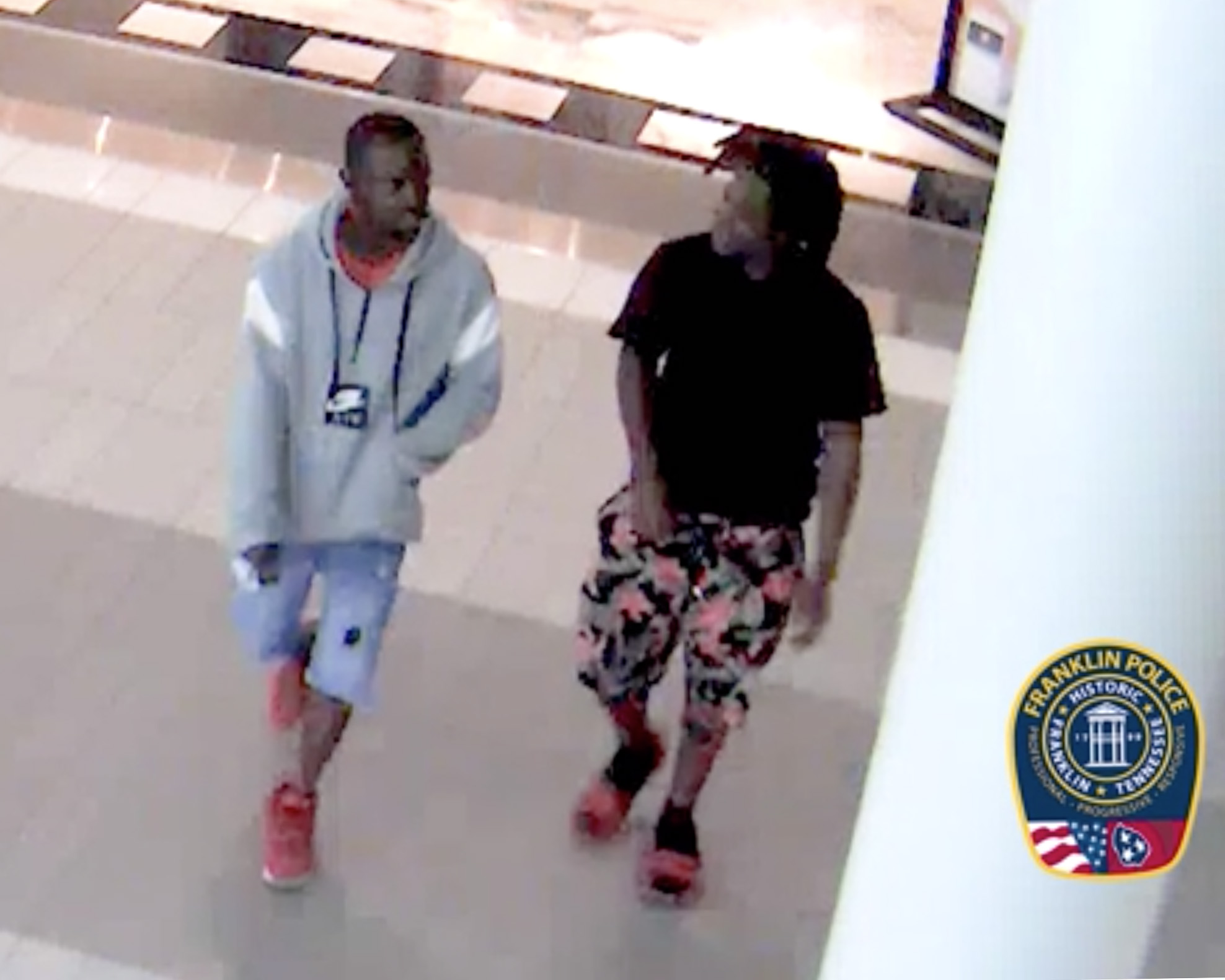 Duo wanted for passing counterfeit twenties, Franklin detectives offer $1,000 reward