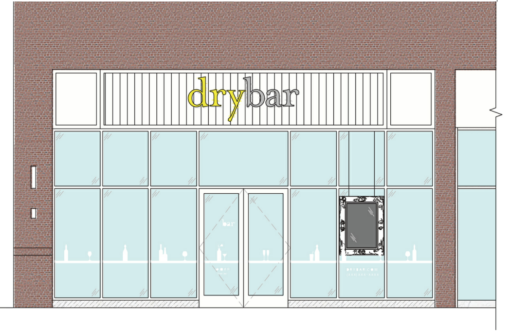 Planning Commission to consider building elevations for Drybar in Hill Center Brentwood