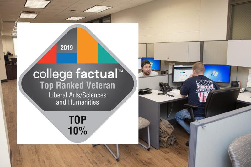 MTSU liberal arts program ranked among top 50 for veteran friendliness