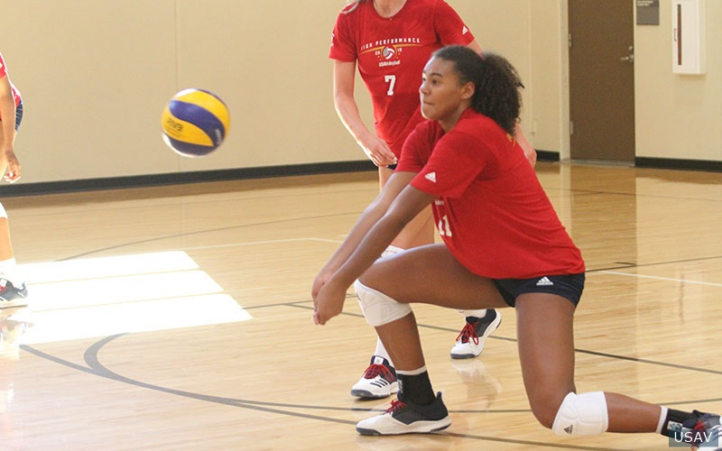 Logan Eggleston once again makes cut for country's top junior volleyball team