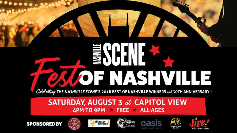 Celebrate the best of Music City at this free August event