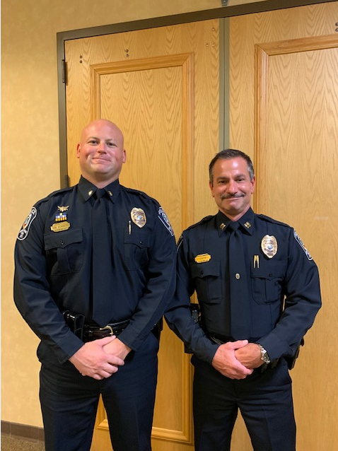 Brentwood Police Department promotes two officers