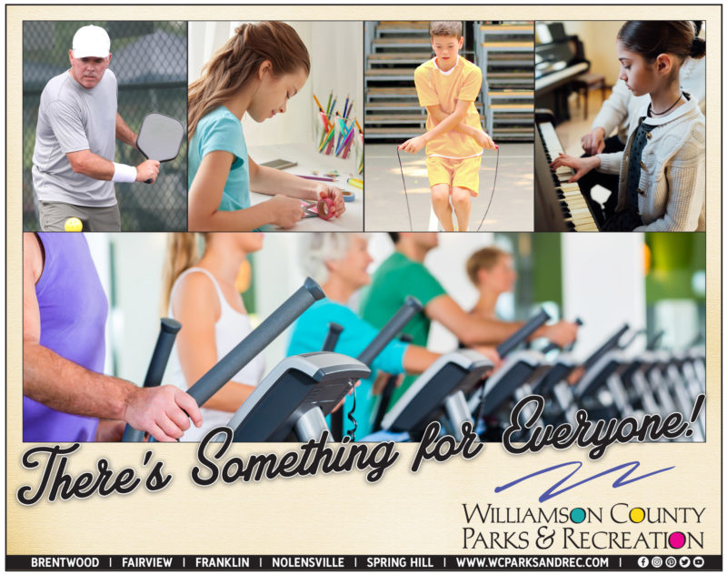 Williamson County Parks and Rec offering art journaling, piano lessons, Pickleball this month