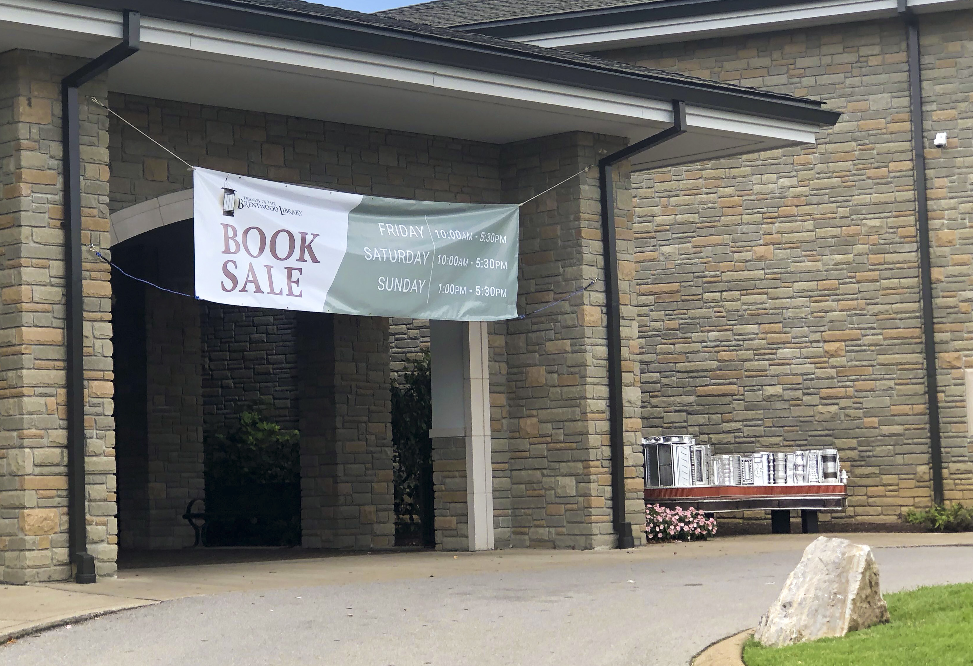 Large selection of vintage books featured at Friends' weekend book sale