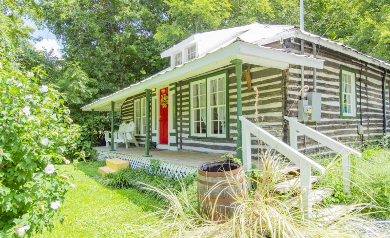 SHOWCASE HOME: Charming historic cabin features impressive upgrades and location