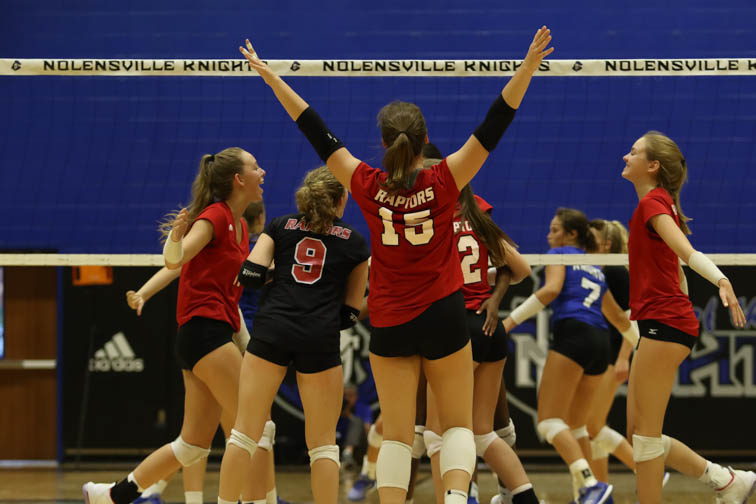 Ravenwood tops Nolensville in early season volleyball action