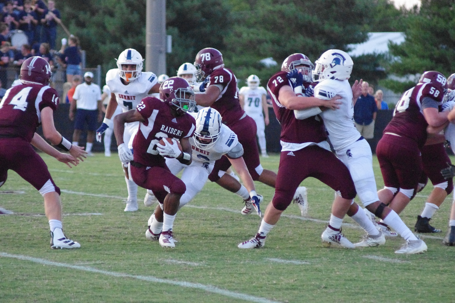 VIDEO: Summit Spartans trample Spring Hill Raiders to continue strong start