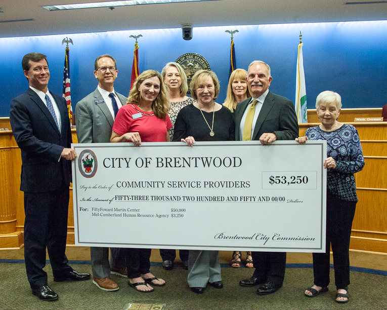Brentwood awards money to schools, community service providers