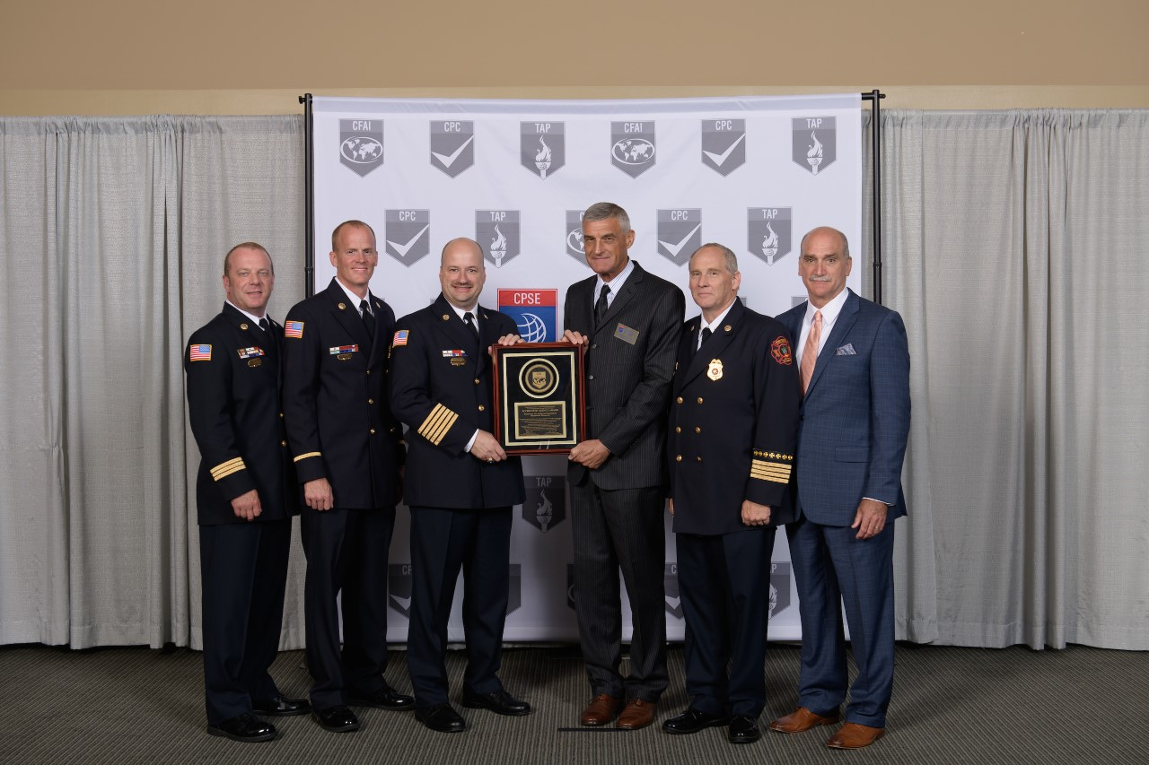 Brentwood Fire and Rescue receives international accreditation again