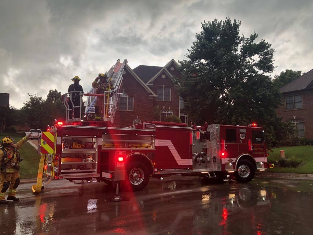 Brentwood Fire and Rescue responded to lighting strikes, house fires, fuel spills and vehicle fires in latest report