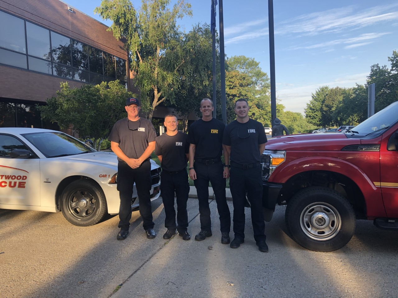 Brentwood Fire sends crew to assist with hurricane rescues