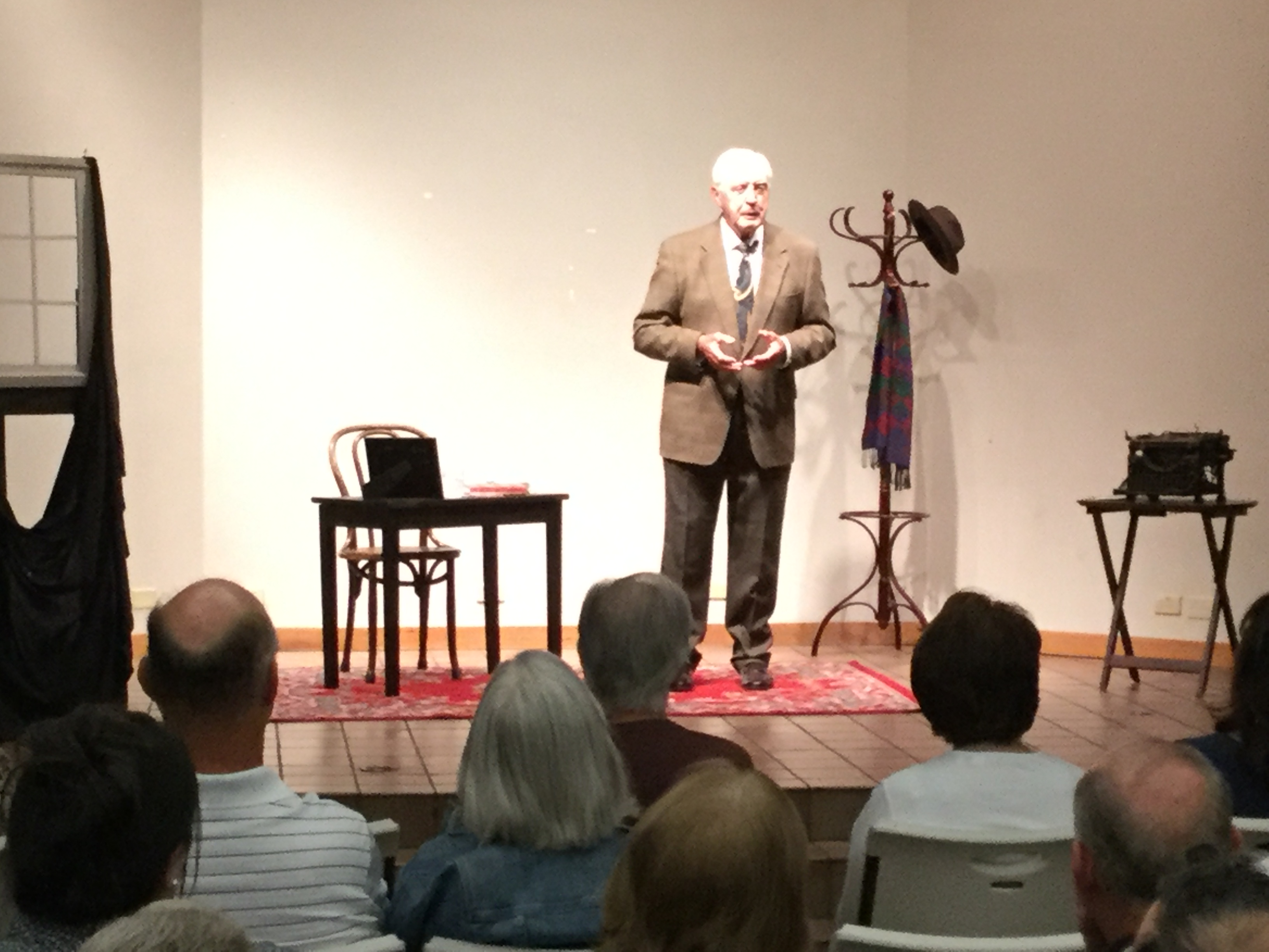 'After: A Play of Memories of Otto Frank' showing at Brentwood Library
