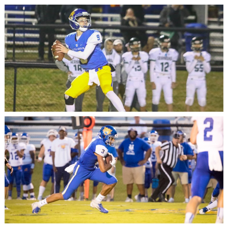 CITY CAFE PLAYER OF THE WEEK: BGA QB Nick Semptimphelter, WR Antonio Stevens