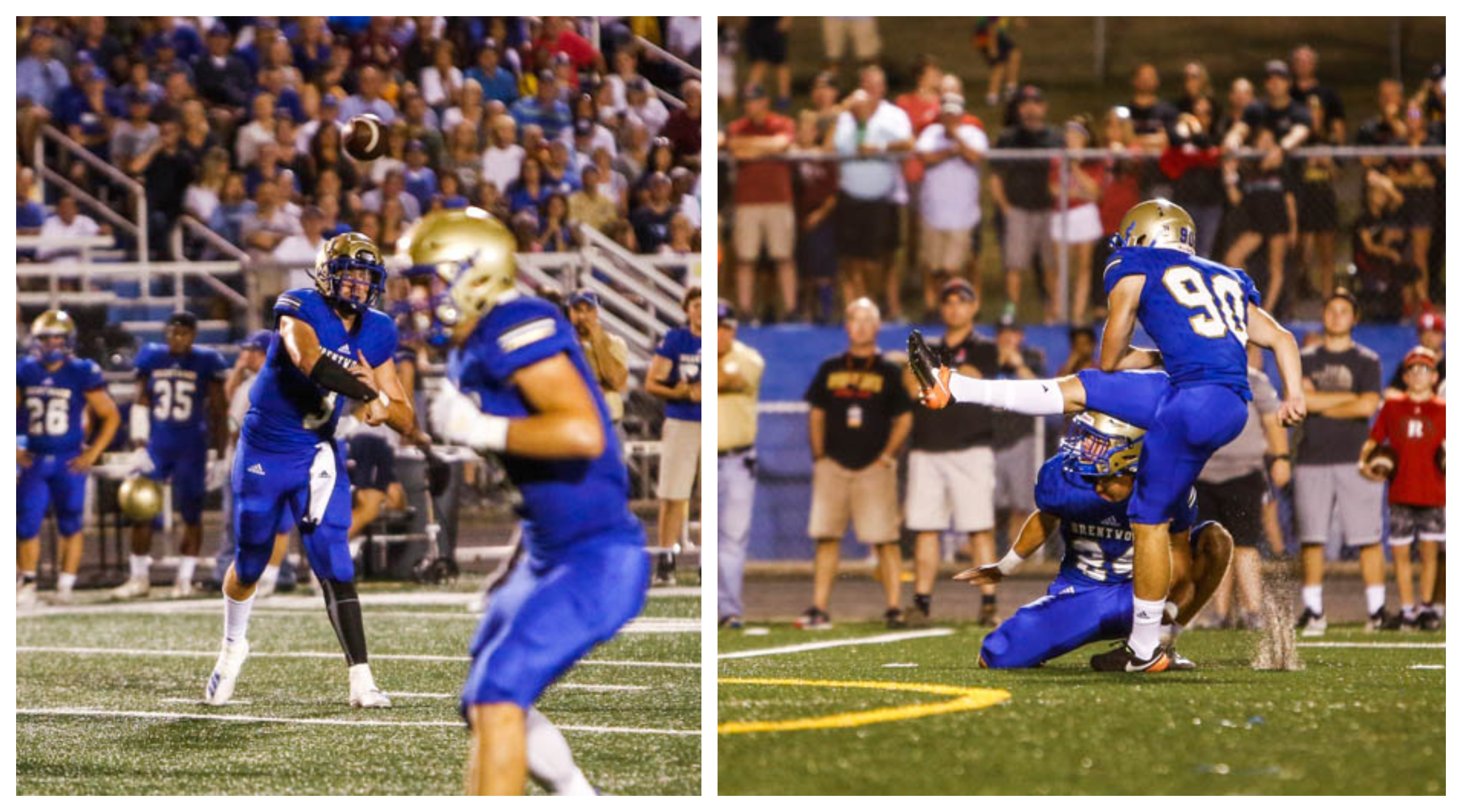 CITY CAFE PLAYERS OF THE WEEK: Brentwood QB Cade Granzow, K Thomas Day