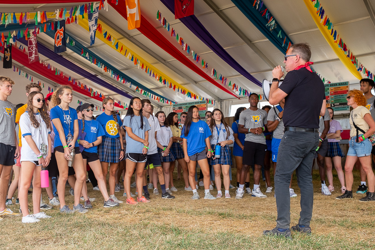 High school students visit Pilgrimage Festival for behind the scenes sneak peek