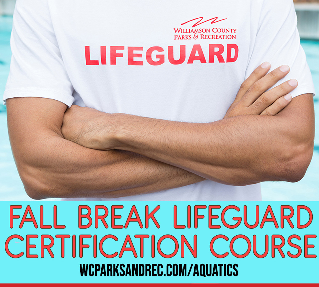Registration for fall break lifeguard classes open Sept. 21, to be held at Brentwood Indoor Sports Complex
