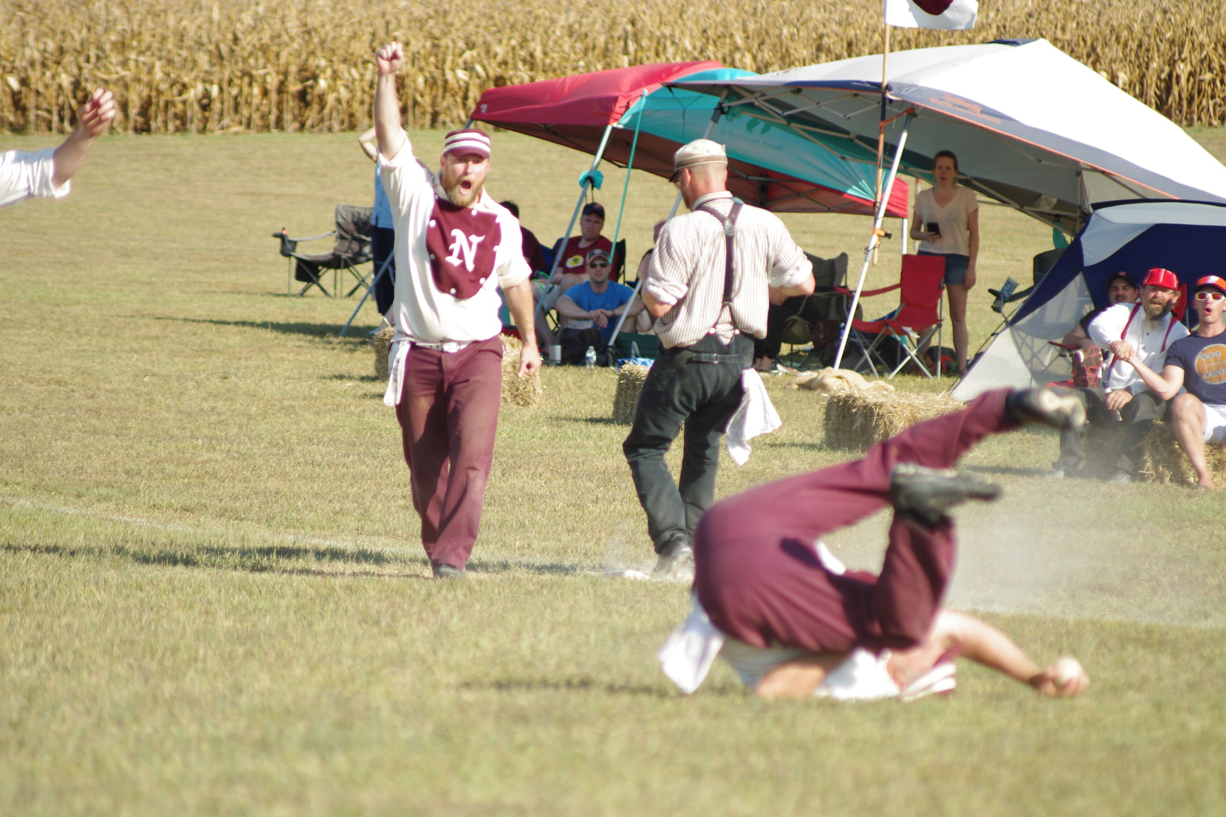 PHOTOS: Nashville Maroons defeat Franklin Farriers to claim Vintage Baseball Sulphur Dell Cup