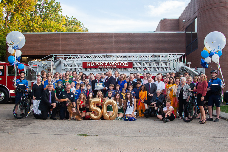 PHOTOS: Brentwood celebrates 50 years
