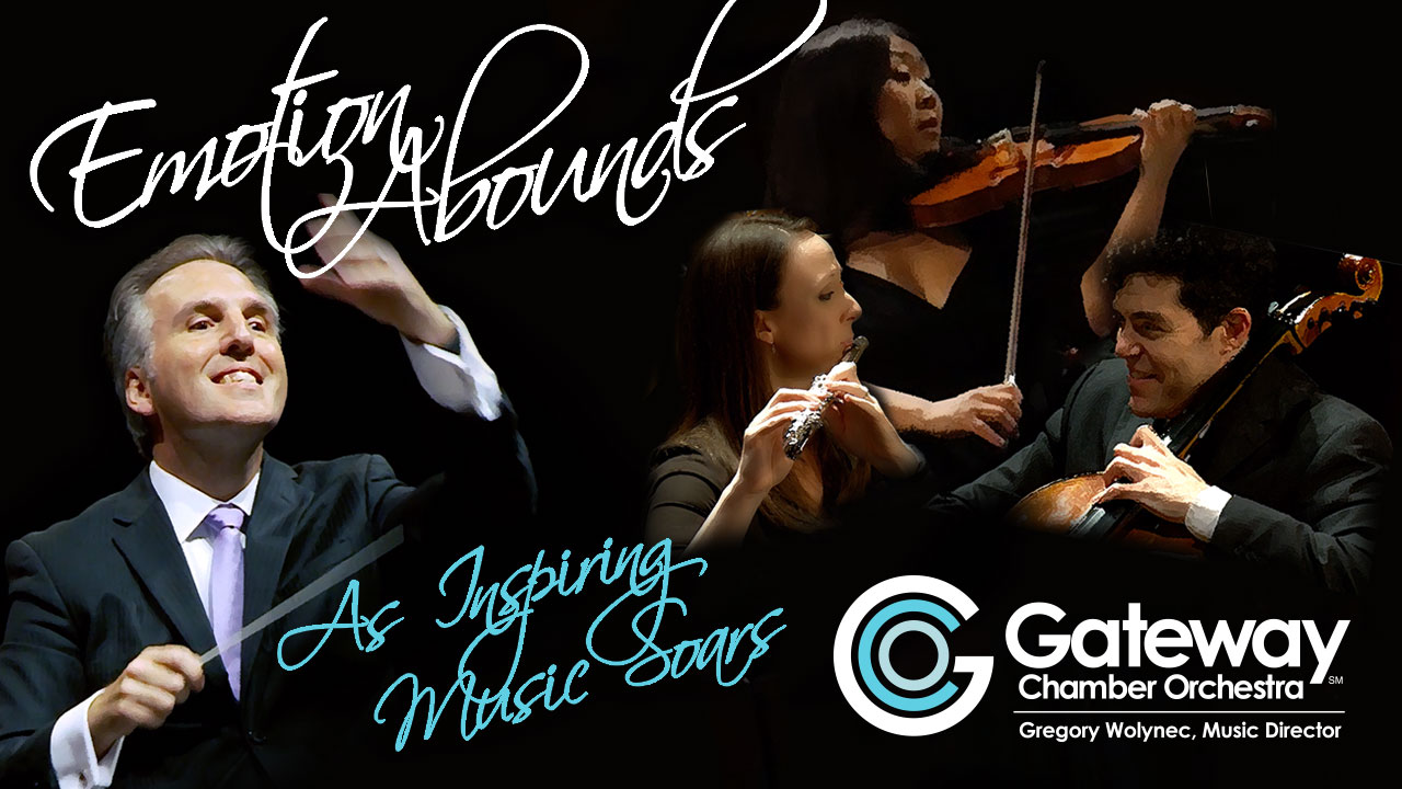 Gateway Chamber Orchestra's Masterworks Series kicks off on Sept. 30