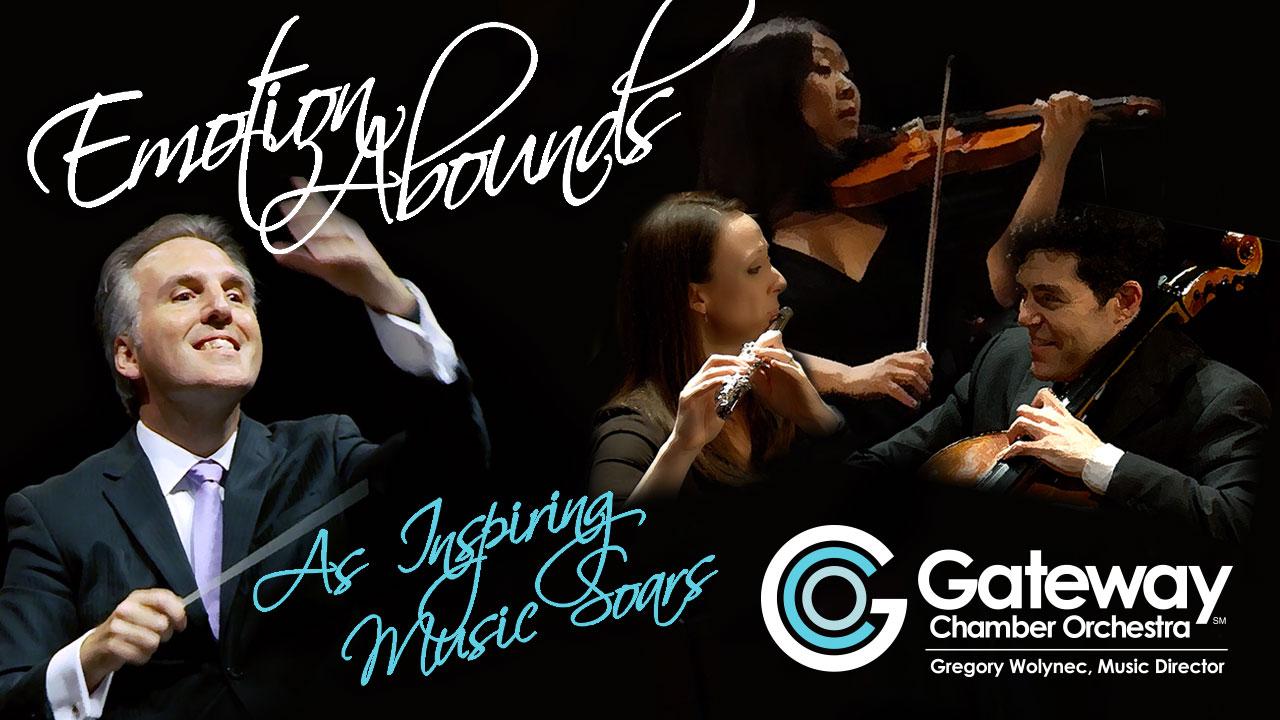 Gateway Chamber Orchestra's Masterworks Series kicks off on Sept. 30