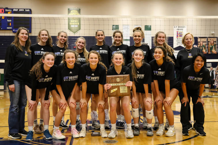 Brentwood volleyball collects seventh-straight 12-AAA district title