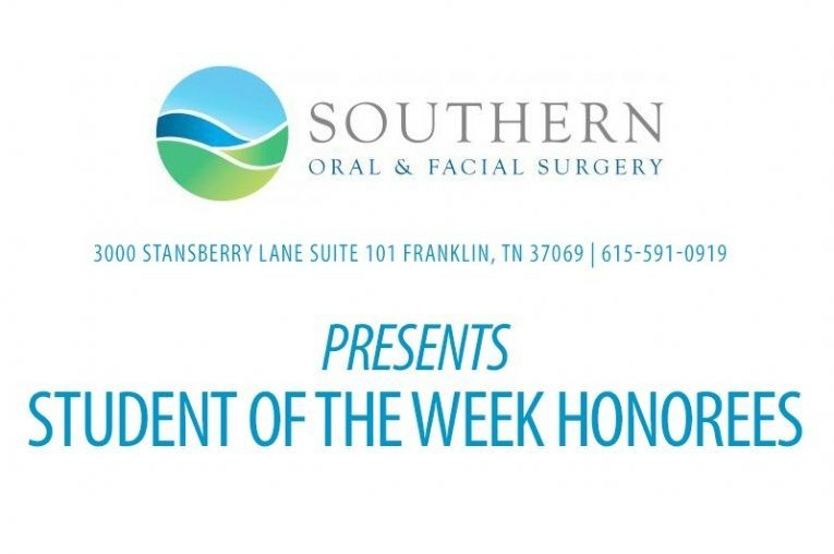STUDENT OF THE WEEK: Brentwood Academy