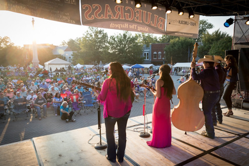 Franklin town square will be full of sounds as Bluegrass Along the Harpeth fest gets started Friday
