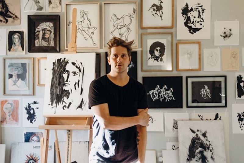 Member of Needtobreathe to debut his 'sensation of fleeting moments' at Franklin Art Scene