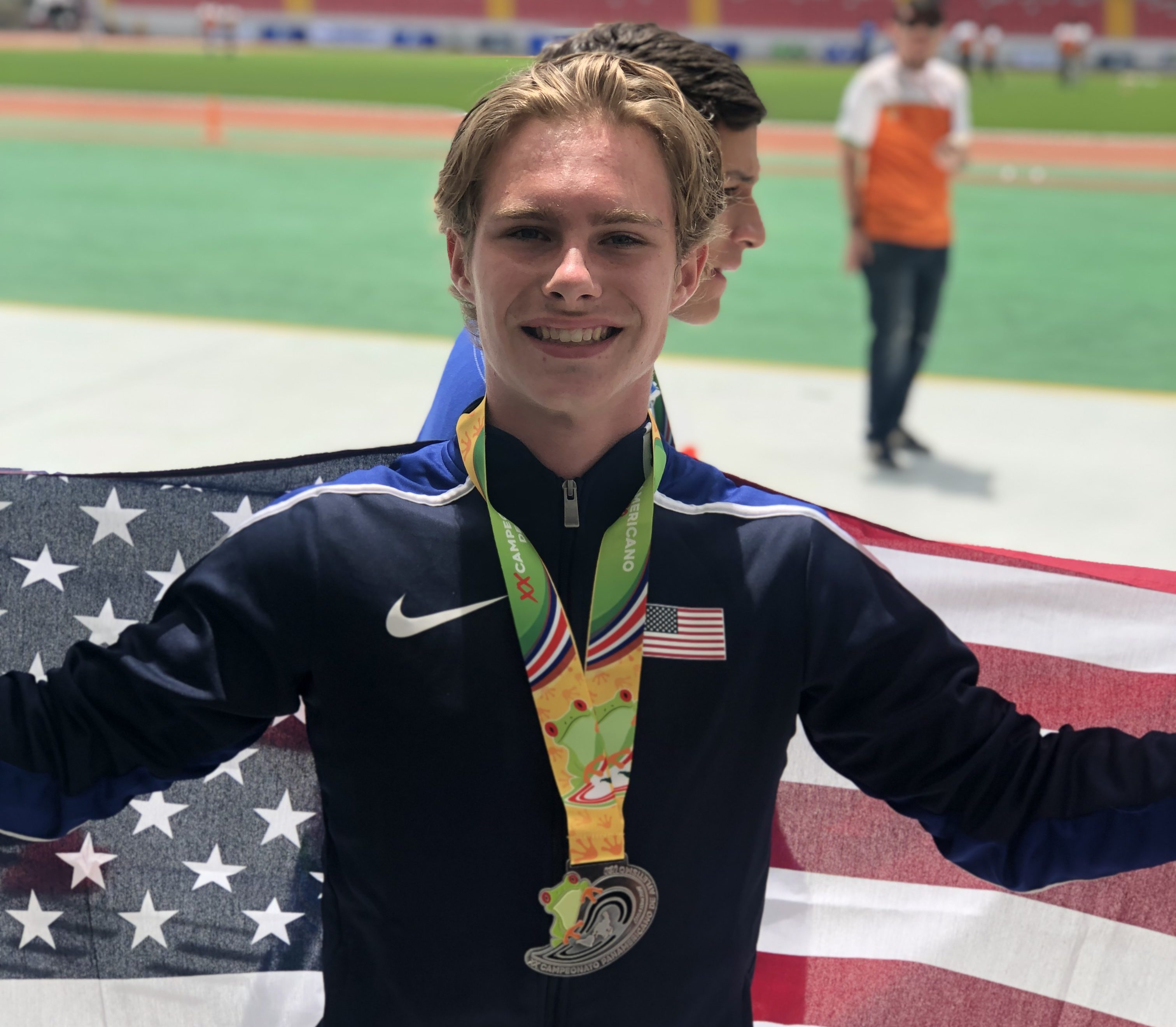 Brentwood's Jett Kinder medals silver in Pan Am U20 games