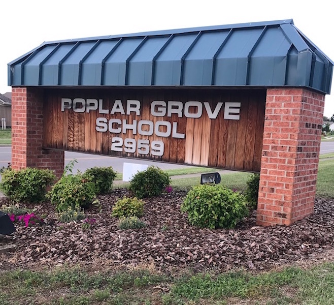 Poplar Grove Elementary to benefit from cleaning supplies drive from local company