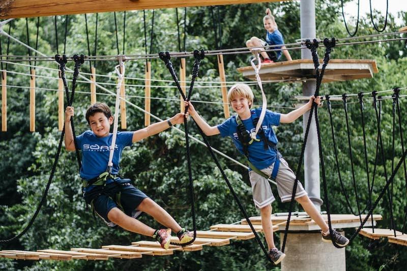 Soar Adventure Summer Day Camp provides fun for kids of all ages, opportunities for adventure and growth