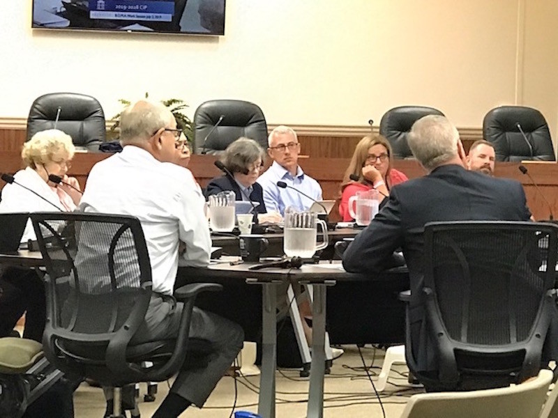 Franklin city staff confirms budget consists of enough money to fund 37 projects in next decade