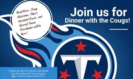 Centennial hosting Titans-themed event to benefit Lady Cougars softball team