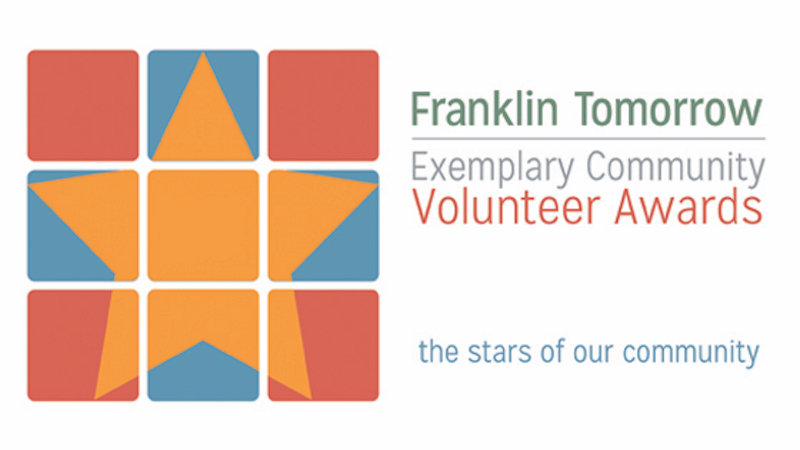 Franklin Tomorrow's Exemplary Community Volunteer Awards to honor numerous candidates