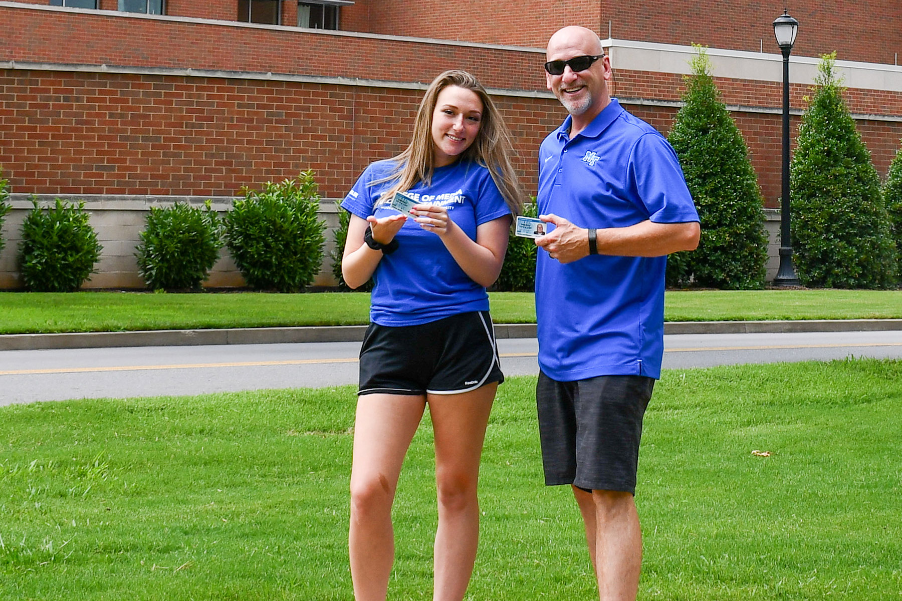 Thompson Station dad on track to finish degree as daughter enrolls in first MTSU class