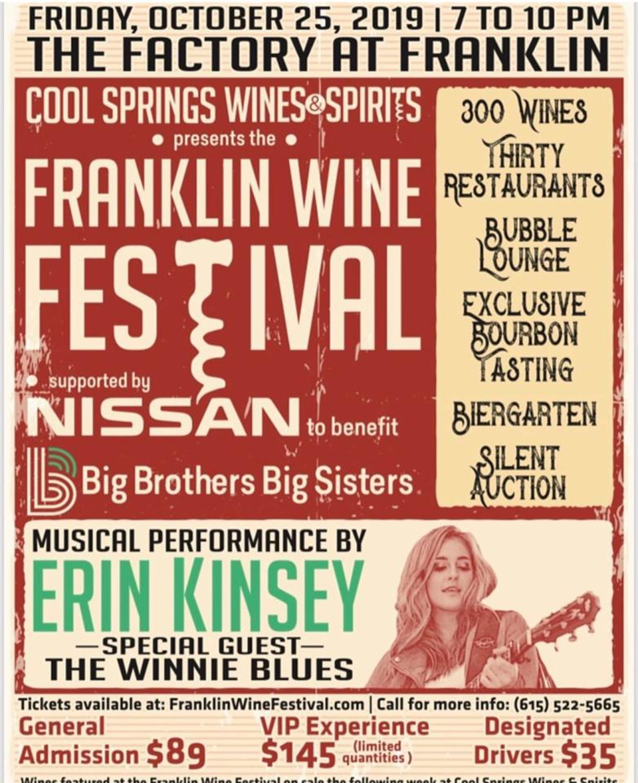 Franklin Wine Festival celebrates 15 years of fine wine