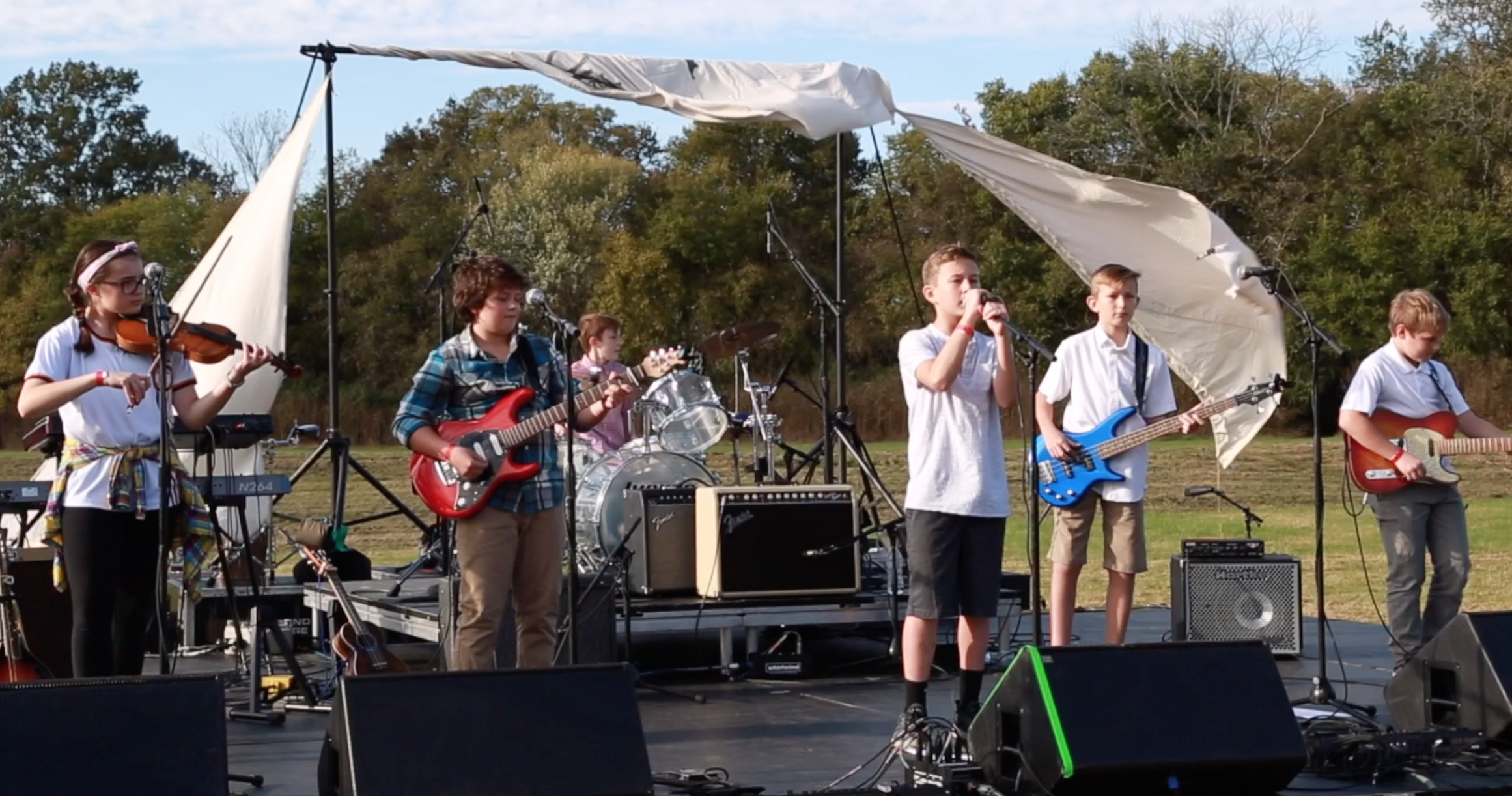 From fourth grade to seventh grade; Williamson County's youngest rock band ready to rock Spring Hill music festival Saturday