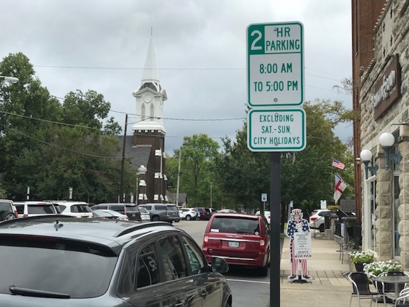 Franklin city aldermen to give final say regarding parking limit on West Main Street