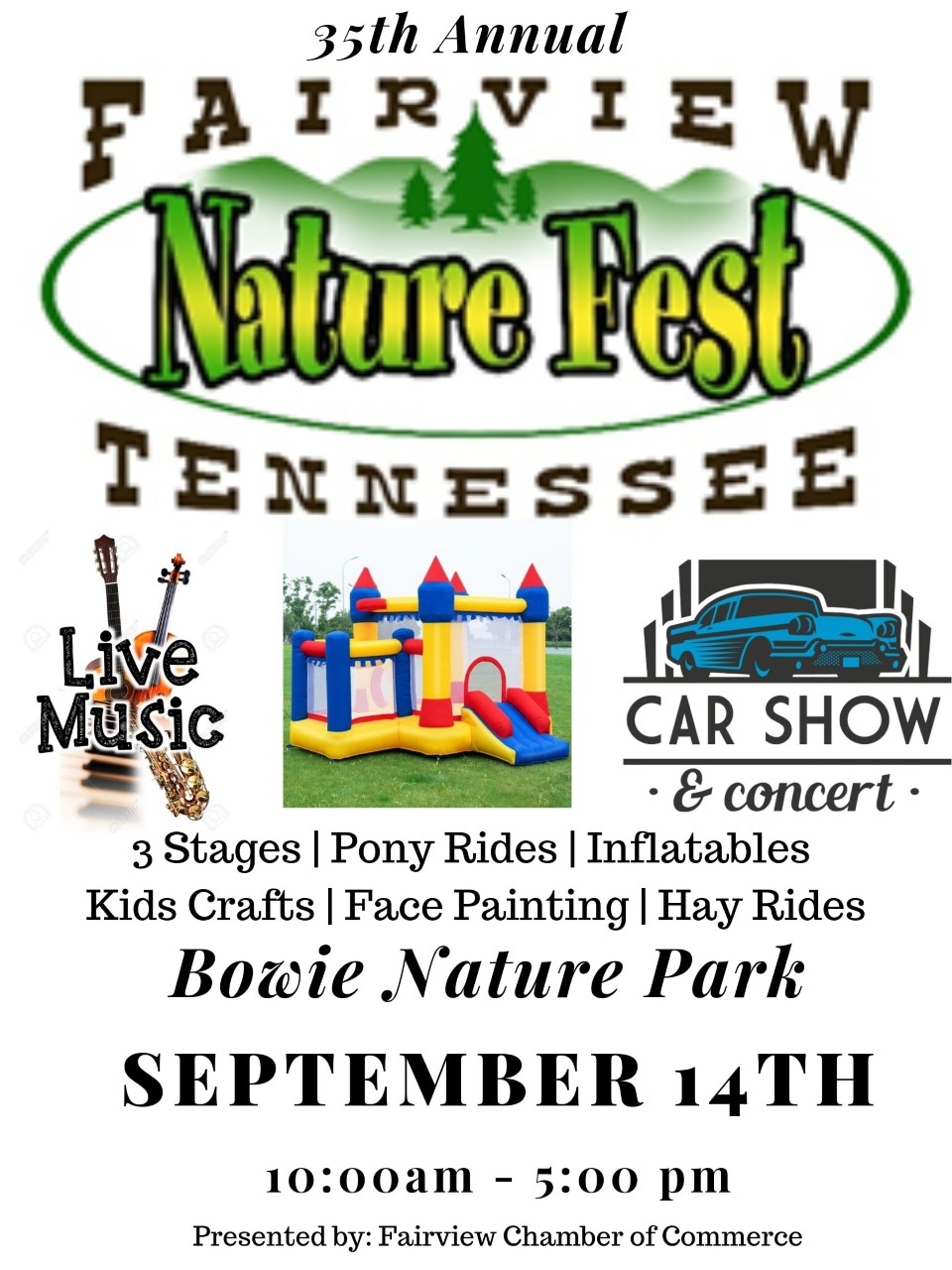NatureFest slated for Sept. 14 in Bowie Park