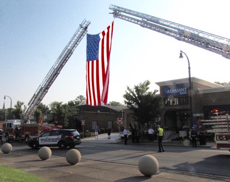Memories of 9/11 on display as officials recall the day at Franklin Police HQ