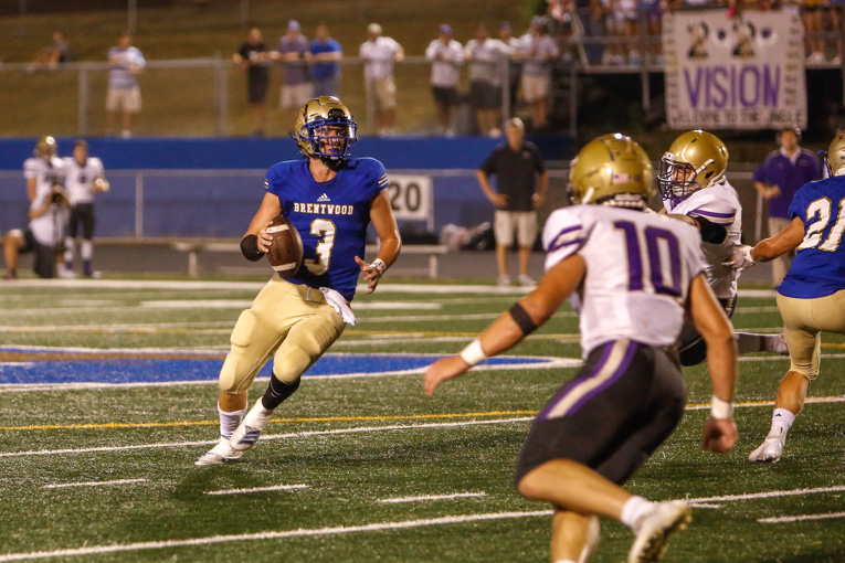 GAME OF THE WEEK: Late touchdown gets Brentwood past CPA on Homecoming