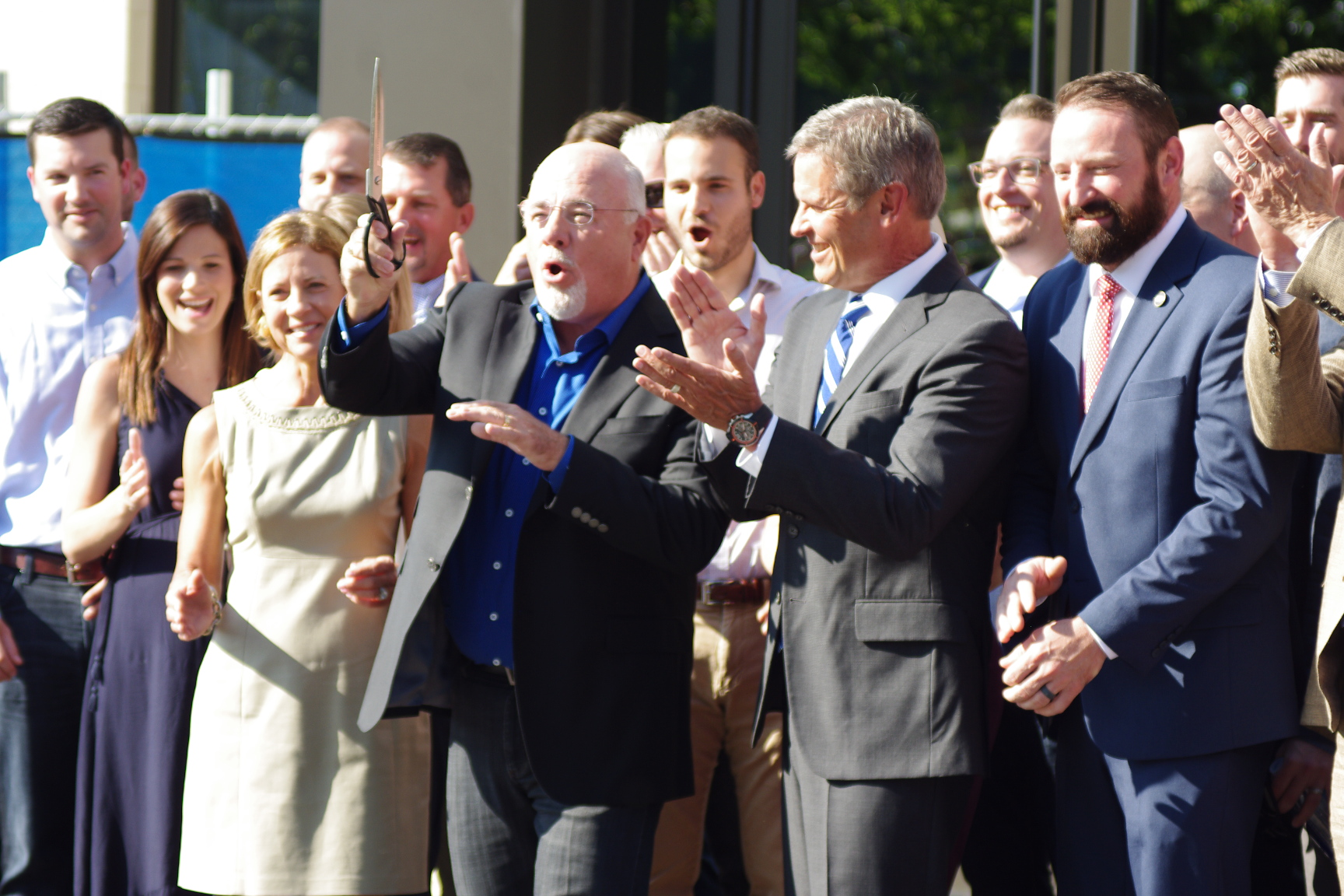 Dave Ramsey unveils new headquarters in Franklin alongside Gov. Bill Lee