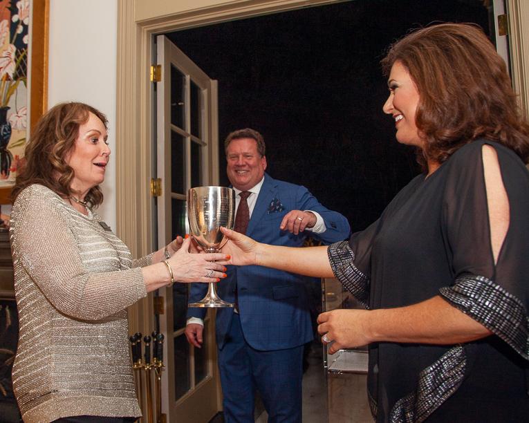 Heritage Ball Sponsor Party packs house, honors 2019 Patron Award winner