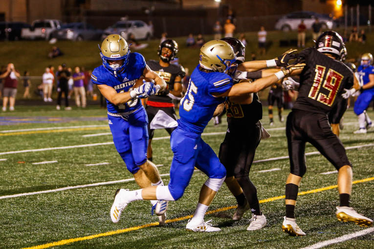 Second half surge gets Brentwood past Ravenwood in latest 'Battle of the Woods'