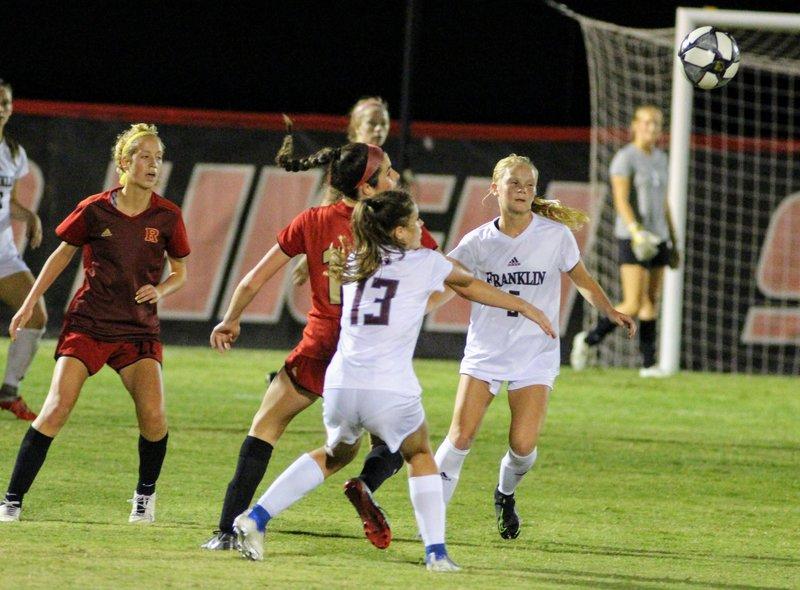 Ravenwood tops Franklin in district girls soccer bout