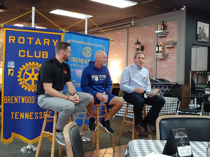 'Battle of Woods' preview centerpiece of latest Brentwood AM Rotary Club meeting